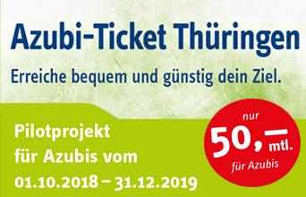 Azubi-Ticket Thüringen wird anerkannt