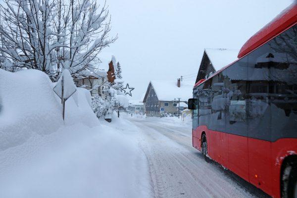 Eingeschränkter Linienverkehr nach Ferienfahrplan